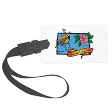 North Dakota Map Luggage Tag