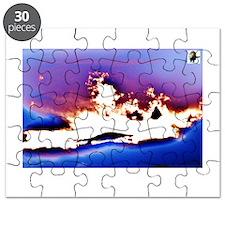 Sunset Explosion Puzzle