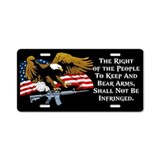 2nd amendment License Plates