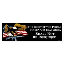 Right of the People Bumper Sticker