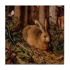 Forest Rabbit Tile Coaster