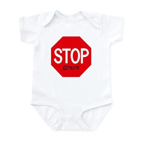 Stop Edwin Infant Bodysuit