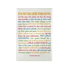 The Critic Rectangle Magnet (10 pack)