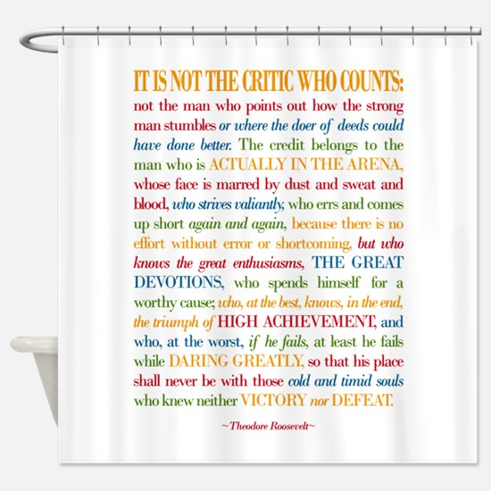 The Critic Shower Curtain