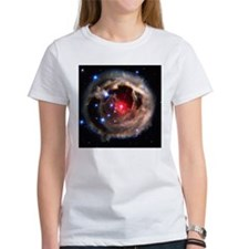 Light echoes from exploding star - Tee