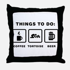Tortoise Lover Throw Pillow