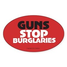 OTG 28 Guns Stop Burglaries Decal