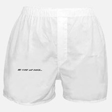 Cute Lap dance Boxer Shorts
