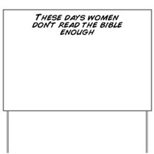 Unique Women of the bible Yard Sign