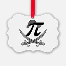 Pi - Rate Greyscale Ornament