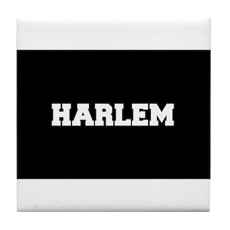 Harlem Logo Tile Coaster by listing store