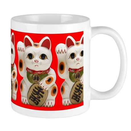 Cute Maneki Neko (Lucky Cat) Mug Mug