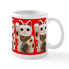 Cute Maneki Neko (Lucky Cat) Small Mug Small Mug