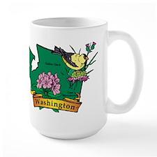 Washington Map Mug