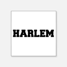 "Harlem Logo Square Sticker 3"" x 3"""