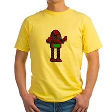 Red Retro Robot T