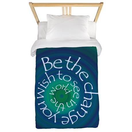 Be the Change Twin Duvet