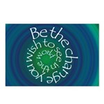 Be the Change Postcards (Package of 8)