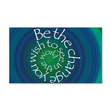Be the Change 20x12 Wall Decal