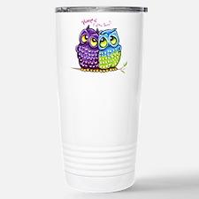 Owls in Love Travel Mug