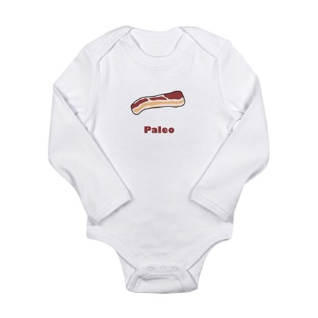 Paleo Bacon Long Sleeve Infant Bodysuit