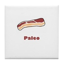 Paleo Bacon Tile Coaster