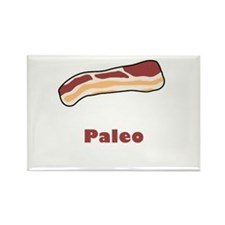 Paleo Bacon Rectangle Magnet