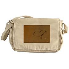 Love in The Sand Messenger Bag
