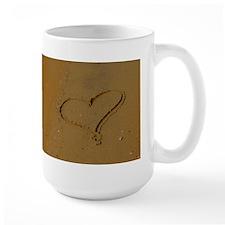 Love in The Sand Mug