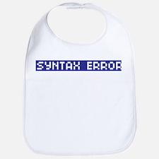 Syntax Error Bib