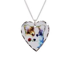 Pembroke Welsh Corgi Puppy with Valentine Rose Nec