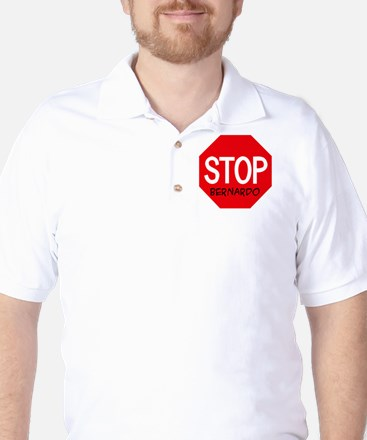 Stop Bernardo Golf Shirt