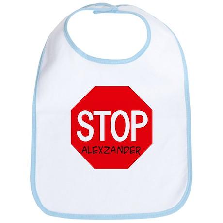 Stop Alexzander Bib