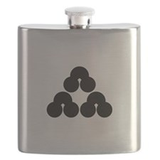 Pile of three sandbanks Flask
