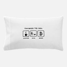 Dog Walking Pillow Case