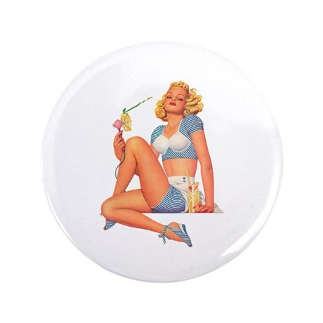 """Cool Breeze For A Hot Mama 3.5"""" Button (100 pack)"""