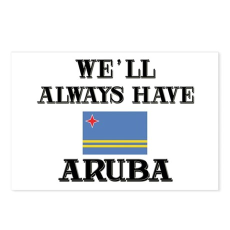 We Will Always Have Aruba Postcards (Package of 8)