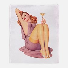 Bottoms Up! Throw Blanket