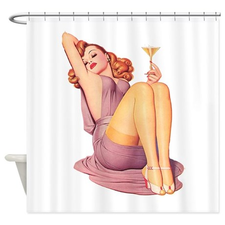 Bottoms Up! Shower Curtain