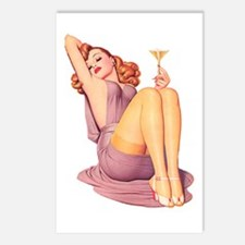 Bottoms Up! Postcards (Package of 8)
