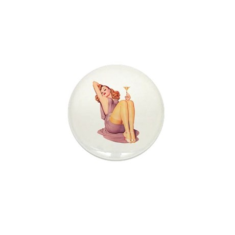 Bottoms Up! Mini Button (100 pack)