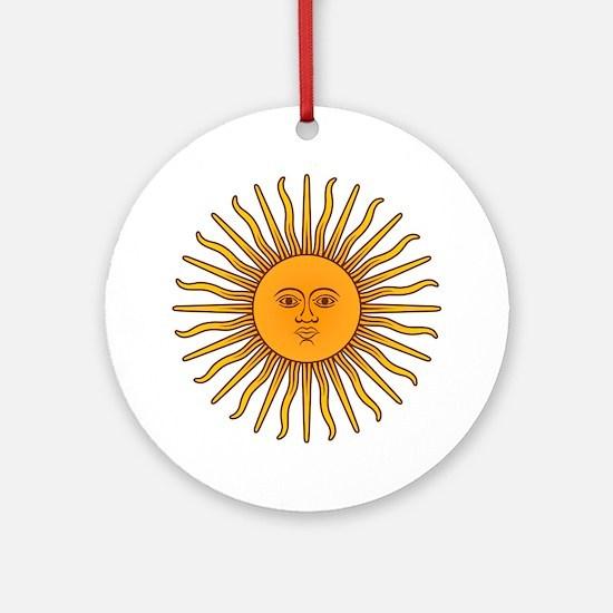 Sol de Mayo Ornament (Round)