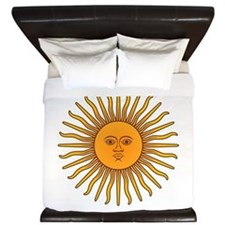 Sol de Mayo King Duvet