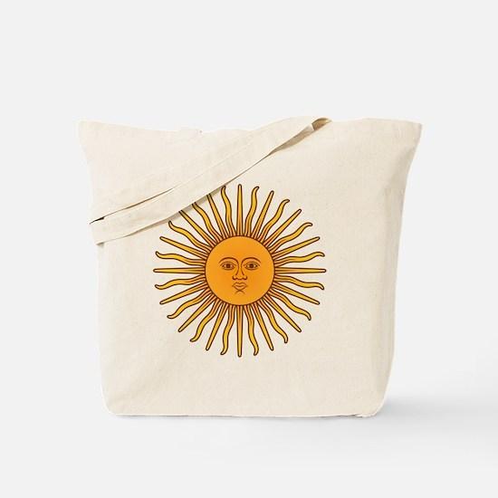 Sol de Mayo Tote Bag