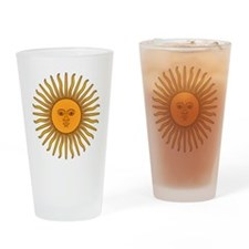Sol de Mayo Drinking Glass