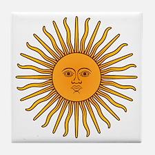 Sol de Mayo Tile Coaster