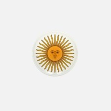 Sol de Mayo Mini Button