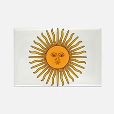Sol de Mayo Rectangle Magnet