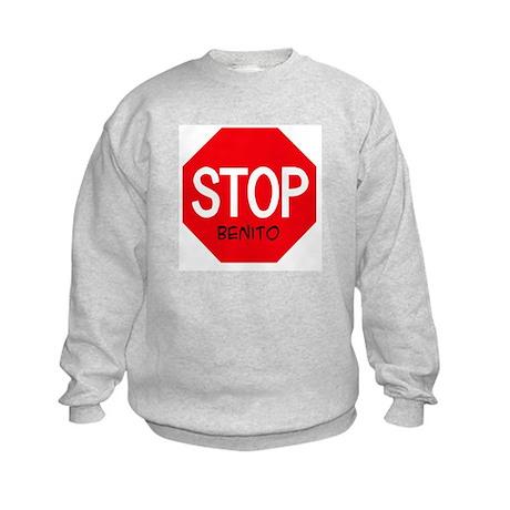 Stop Benito Kids Sweatshirt