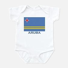 Aruba Flag Gear Infant Bodysuit